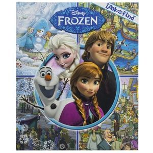 Disney - Frozen Look and Find Activity Book